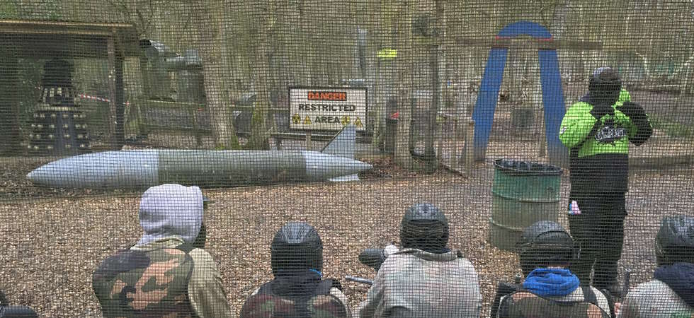 Paintball  Camp  2015