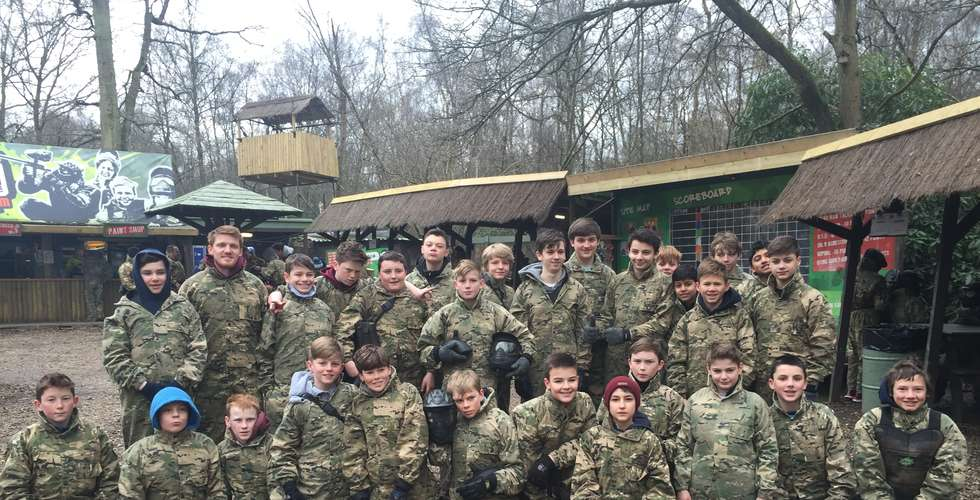 Campaign Paintball - 3rd + 4th year camp